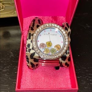 Betsy Johnson valentine watch